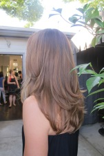 auburn brunette