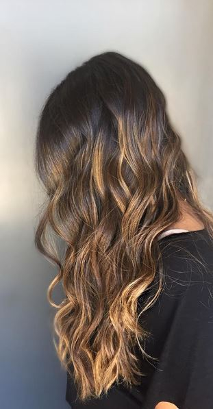 beautiful-chocolate-and-caramel-highlights