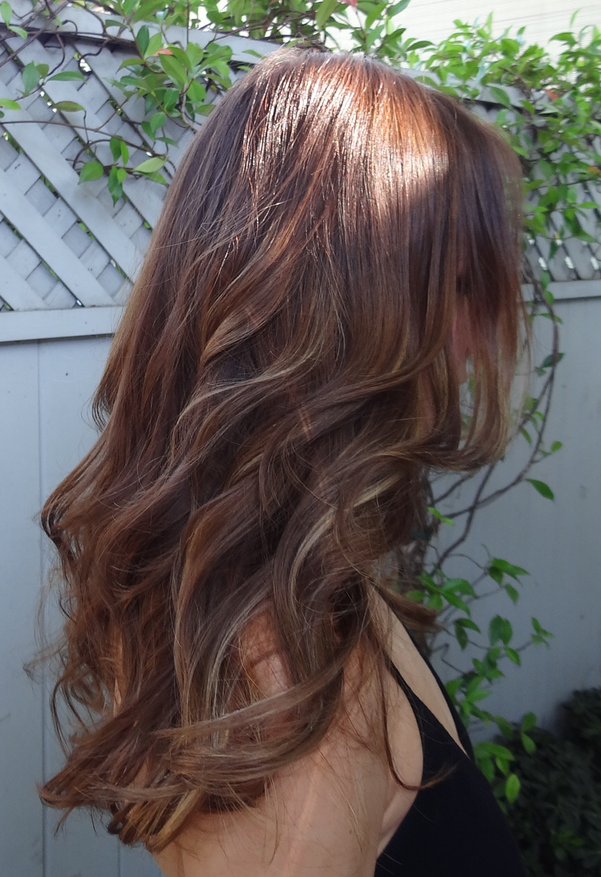 Hair Color For Fall Darker Is Better  Neil George
