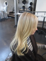 light blonde hair