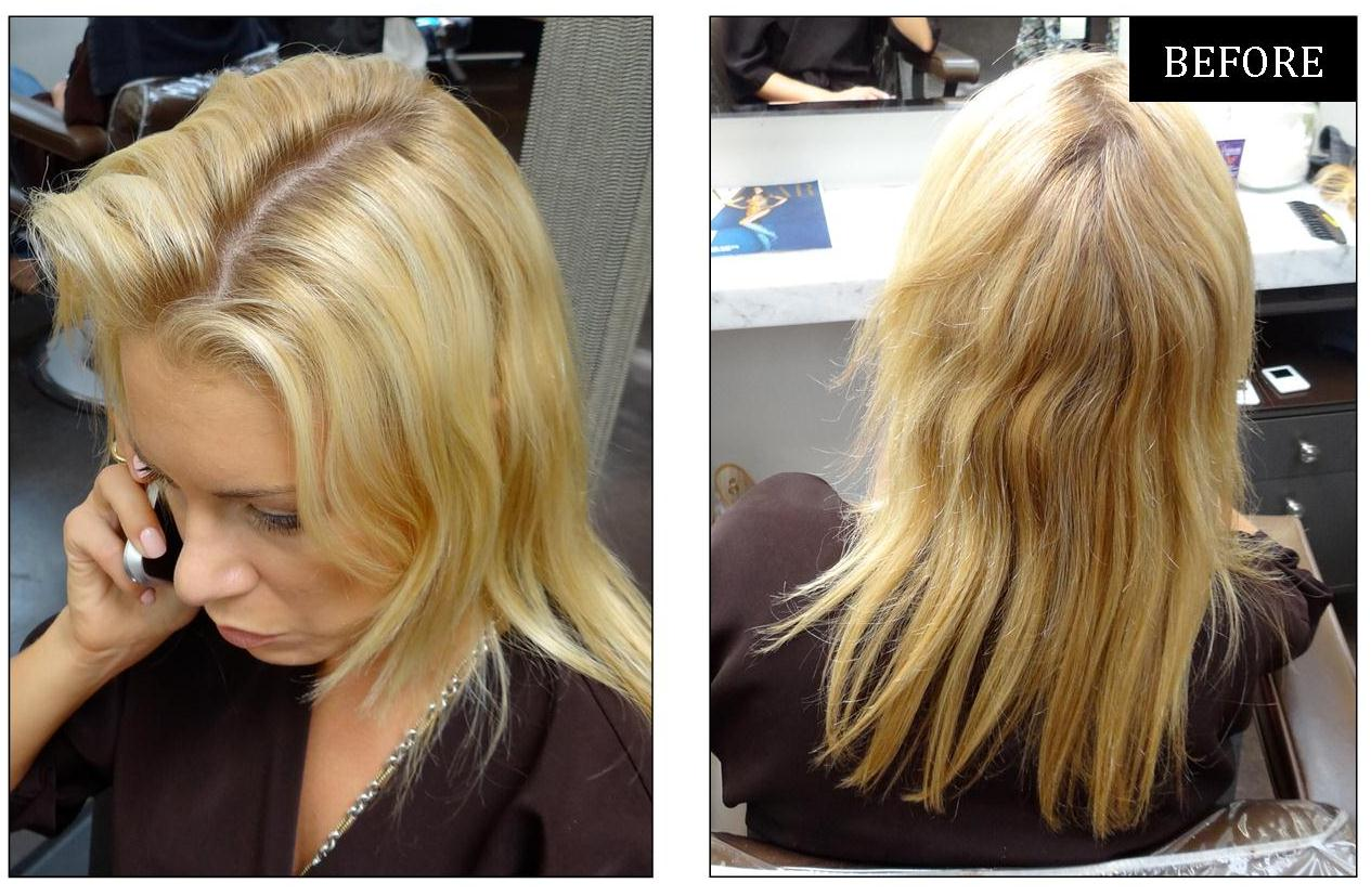 Blonde Hair Color Correction Neil George