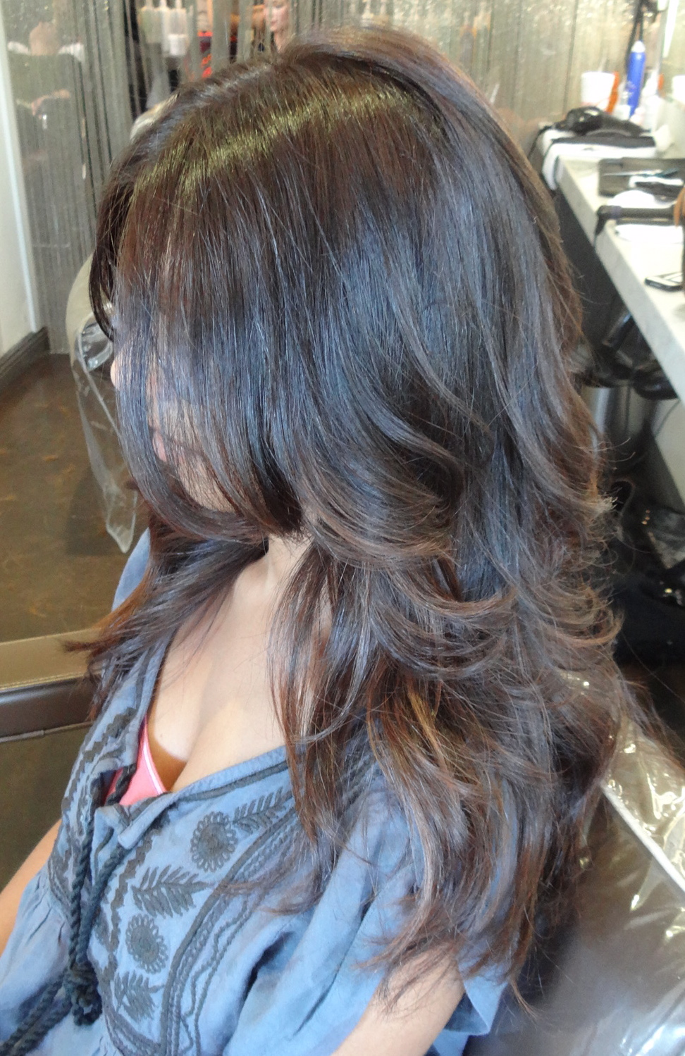 hair color from fading and going dull by adding moisture with a hair ...