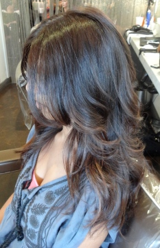 brown hair color shades