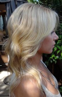 light blonde hair color