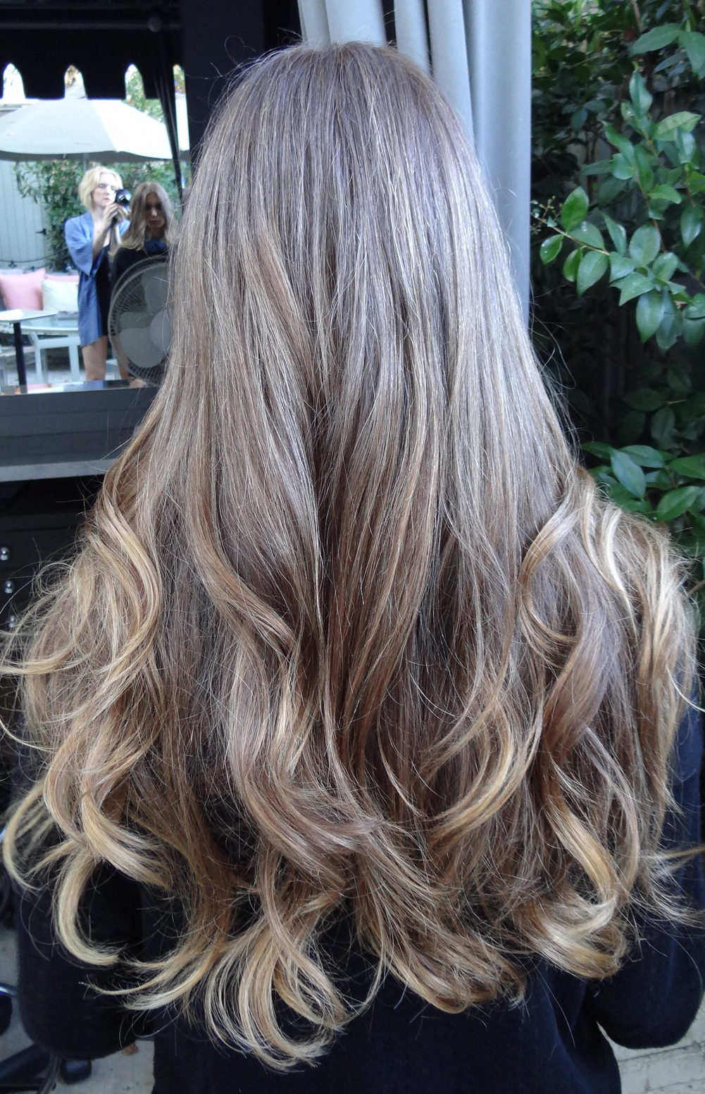 Medium Brunette With Golden Highlights Neil George